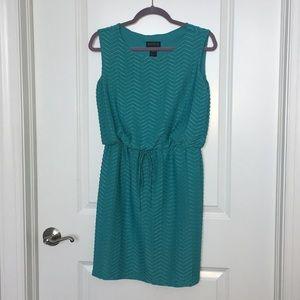 Adorable teal dress- 8